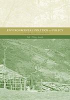 Environmental politics and policy : a comparative approach