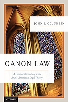 Canon law : a comparative study with Anglo-American legal theory