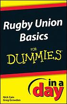 Rugby Rules In A Day For Dummies.