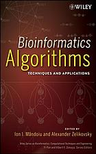 Bioinformatics algorithms : techniques and applications