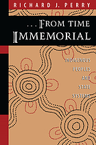 --From time immemorial : indigenous peoples and state systems