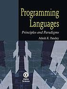 Programming languages : principles and paradigms