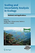 Scaling and uncertainty analysis in ecology : methods and applications