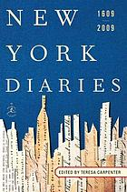 New York diaries, 1609 to 2009