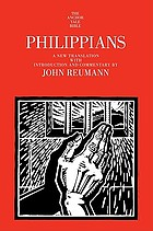 Philippians : a new translation with introduction and commentary