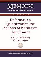 Deformation quantization for actions of Kählerian lie groups