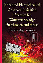 Enhanced electrochemical advanced oxidation processes for wastewater sludge stabilization and reuse
