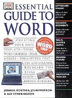 DK essential guide to Word