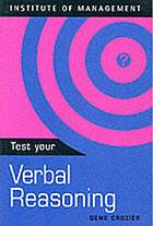 Test your verbal reasoning