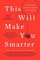 This will make you smarter : new scientific concepts to improve your thinking