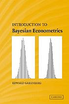 Introduction to Bayesian econometrics