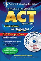 The very best coaching and study course for the ACT Assessment : with CD-ROM for both Windows & Macintosh, REA's interactive ACT TESTware