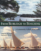 From Burleigh to Boschink : a community called Stony Lake