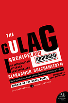 The Gulag Archipelago 1918-1956 : an experiment in literary investigation.
