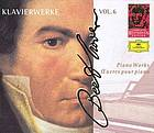Klavierwerke = Piano works