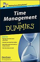 Time Management For Dummies.