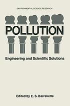 Pollution : Engineering and Scientific Solutions