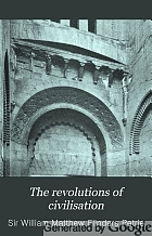 The revolutions of civilisation,
