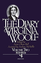 The diary of Virginia Woolf. Volume two, 1920-1924