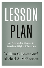 Lesson plan : an agenda for change in American higher education
