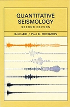 Quantitative seismology