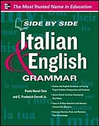 Side by side Italian & English grammar