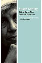 At the same time : essays and speeches