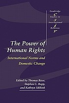 The power of human rights : international norms and domestic change