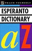 Concise Esperanto and English dictionary : Esperanto-English, English-Esperanto