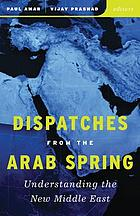 Dispatches from the Arab spring : understanding the new Middle East
