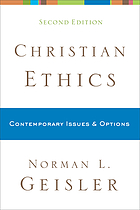 Christian ethics : contemporary issues & options