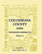 Columbiana County, Ohio, newspaper abstracts