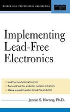 Implementing lead-free electronics