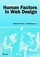 Handbook of human factors in Web design