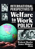 International Perspectives on Welfare to Work Policy cover image
