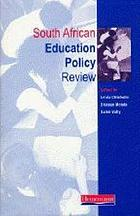 South African education policy review, 1993-2000