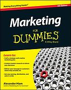 Marketing For dummies.