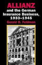 Allianz and the German insurance business, 1933-1945