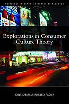 Explorations in consumer culture theory