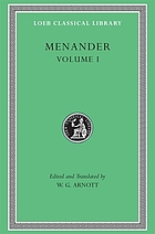 Menander, the principal fragments,