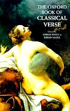 The Oxford book of classical verse