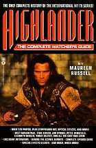 Highlander : the complete watcher's guide