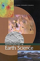 Basic research opportunities in earth science