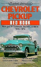 Chevrolet pickup red book