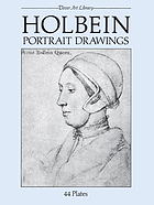 Holbein portrait drawings : 44 plates