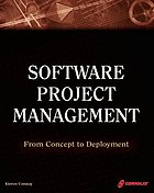 Software project management : from concept to deployment