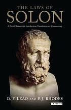 The laws of Solon : a new edition with introduction, translation and commentary