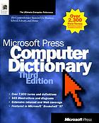 Microsoft Press computer dictionary.