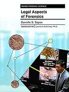 Legal aspects of forensics