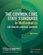 The common core state standards in mathematics for English language learners : high school